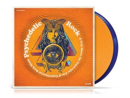 VARIOUS ARTISTS - Psychedelic Rock (Limited Orange/Blue Transparent Vinyl) (LP)