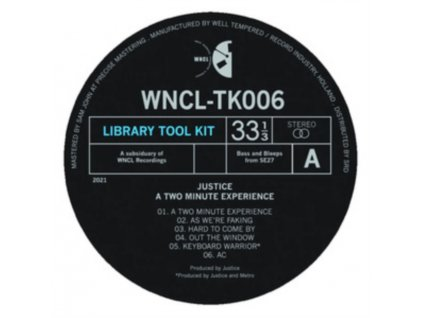 """JUSTICE - A Two Minute Experience (10"""" Vinyl)"""