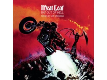 MEAT LOAF - Bat Out Of Hell Clear Classic Version (Transparent Vinyl) (LP)