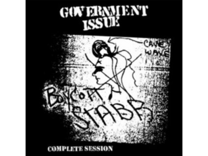 GOVERNMENT ISSUE - Boycott Stabb - Complete Session (LP)