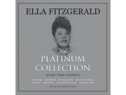 ELLA FITZGERALD - Platinum Collection (White Vinyl) (LP)
