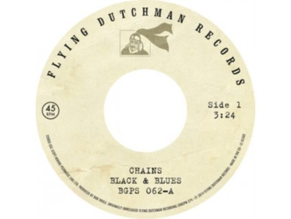 """BLACK & BLUES - Chains / A Toast To The People (7"""" Vinyl)"""