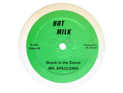 "MR. SPAULDING - Skank In The Dance / Come Now Youthman (12"" Vinyl)"