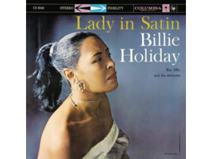 BILLIE HOLIDAY - Lady In Satin (Clear Vinyl) (LP)