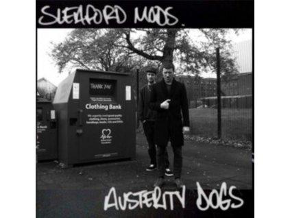 SLEAFORD MODS - Austerity Dogs (Neon Yellow Vinyl) (LP)