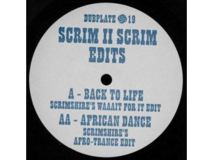"SCRIMSHIRE EDITS - Scrim II Scrim Edits (12"" Vinyl)"