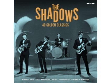SHADOWS - 40 Golden Classics (LP)