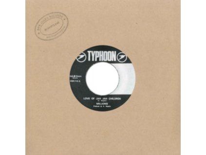 "MILLIONS & GGS ALL STARS - Love Of Jah Jah Children / Dub (7"" Vinyl)"