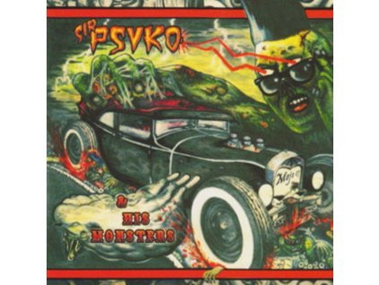 SIR PSYKO & HIS MONSTERS - Zombie Rock (LP)
