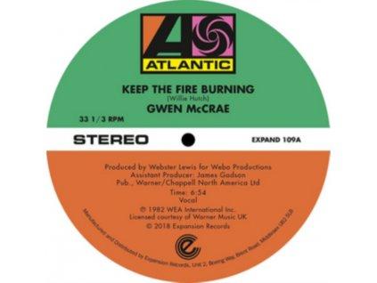 "GWEN MCCRAE - Keep The Fire Burning / Funky Sensation (12"" Vinyl)"
