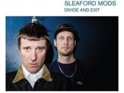 SLEAFORD MODS - Divide And Exit (Transparent Blue Vinyl) (LP)