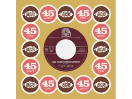 """YUSEF LATEEF / CANNONBALL ADDERLEY SEXTET - Love Theme From Spartacus / Brother John (7"""" Vinyl)"""