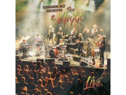 TRONDHEIM JAZZ ORCHESTRA & THE MAXX - Live (LP)