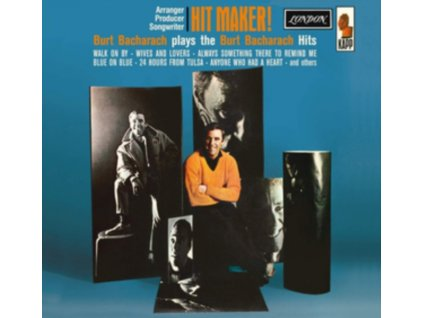 BURT BACHARACH - Hit Maker! (Feat. Jimmy Page & John Paul Jones) (LP)