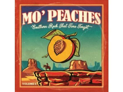 VARIOUS ARTISTS - Mo Peaches 01 - Southern Rock That Time Forgot (LP)