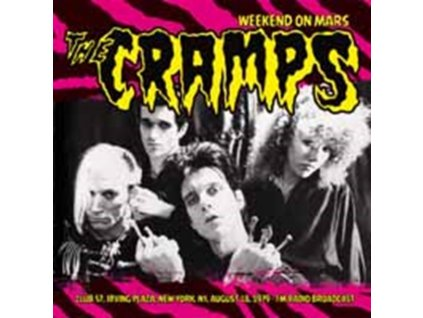 CRAMPS - Weekend On Mars Live At Club 57. Irving Plaza Ny 1978 (Purple Vinyl) (LP)