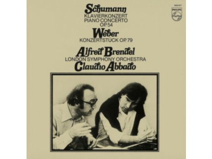 BRENDEL ALFRED - Schumann Piano Concerto In A Minor / Weber: Konzertstuck (LP)