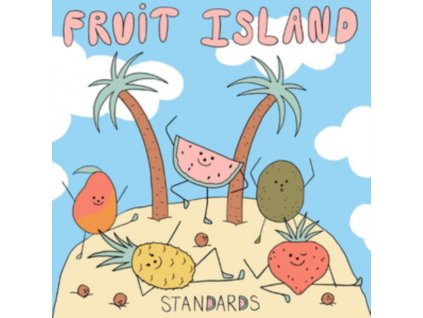 STANDARDS - Fruit Island (Blue / White Vinyl) (LP)