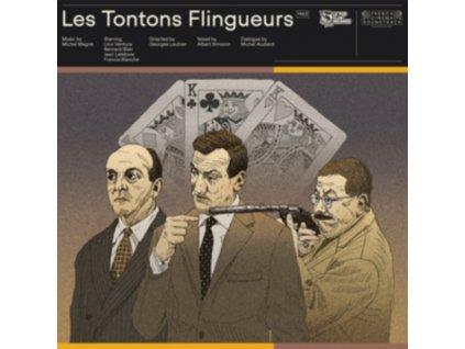 MICHEL MAGNE - Les Tontons Flingueurs (LP)