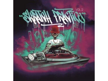 DJ T-KUT - Skratch Practice Vol. 2 (Neon Violet Vinyl) (LP)