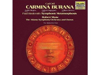 ATLANTA SYMPHONY ORCHESTRA / CHORUS / ROBERT SHAW - Orff: Carmina Burana (LP)