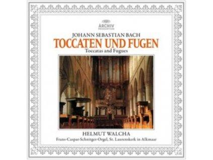 HELMET WALSHA - J.S. Bach: Toccatas & Fugues Bwv 565. 540. 538 & 564 (LP)
