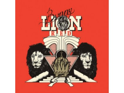 BUNNY LION - Red (LP)