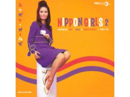 VARIOUS ARTISTS - Nippon Girls 2 - Japanese Pop Beat & RockNRoll 1966-70 (LP)