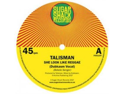 "DUBKASM ENCOUNTERS TALISMAN - She Look Like Reggae (Dubkasm Remix) (7"" Vinyl)"