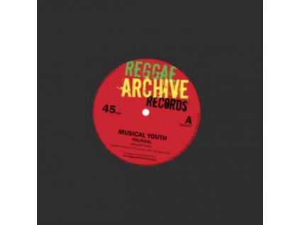 """MUSICAL YOUTH - Political / Generals (7"""" Vinyl)"""