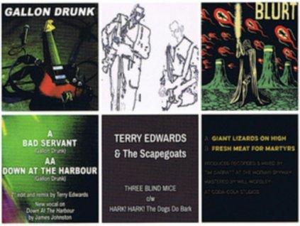 "VARIOUS ARTISTS - Sartorial 7 Inch Bundle: Gallon Drunk / Blurt / Terry Edwards & The Scapegoats (7"" Vinyl)"