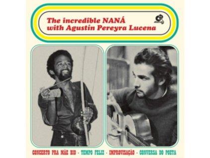NANA VASCONCELOS & AGUSTIN PEREYRA LUCENA - The Incredible Nana (LP)
