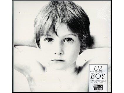 U2 - Boy - 40th Anniversary Edition (White Vinyl) (Black Friday 2020) (LP)