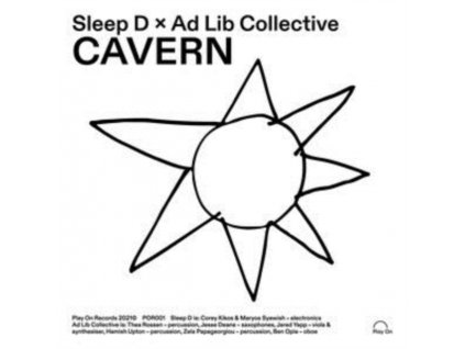 "SLEEP D & AD LIB COLLECTIVE - Cavern (7"" Vinyl)"