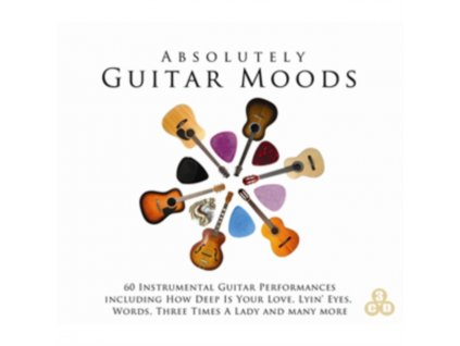 VARIOUS ARTISTS - Absolutely Guitar Moods (CD)