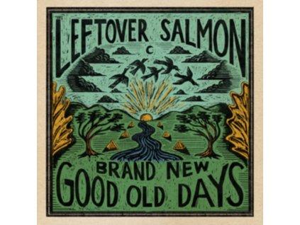 LEFTOVER SALMON - Brand New Good Old Days (Blood Orange Vinyl) (LP)