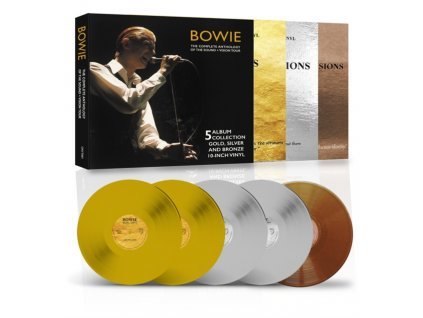 DAVID BOWIE - The Sound And Vision Tour Deluxe Edition (Coloured 10 Inch Vinyl) (LP Box Set)
