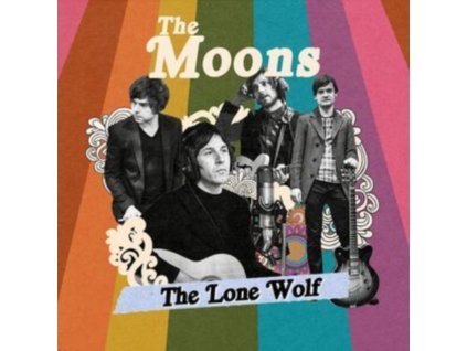 "MOONS - The Lone Wolf (Red Vinyl) (7"" Vinyl)"