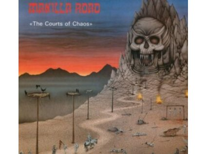 MANILLA ROAD - The Courts Of Chaos (Blue Vinyl) (LP)