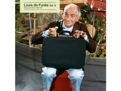 louis de funes vol. II musiques de films 1963 1981 lp vinyl