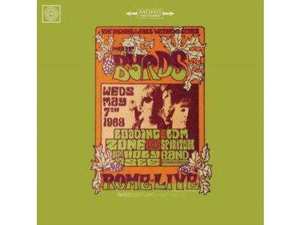 BYRDS - Live In Rome 1968 (LP)