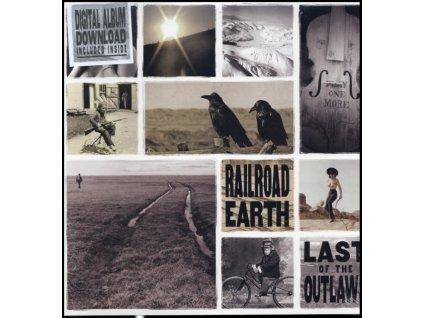 RAILROAD EARTH - Last Of The Outlaws (LP)
