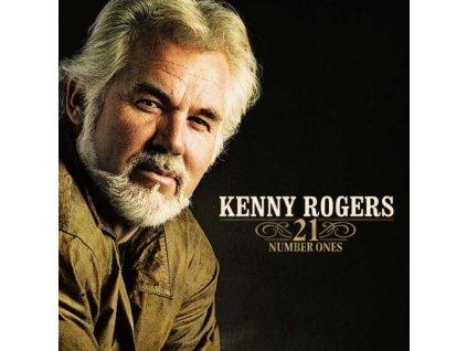 KENNY ROGERS - 21 Number Ones (LP)