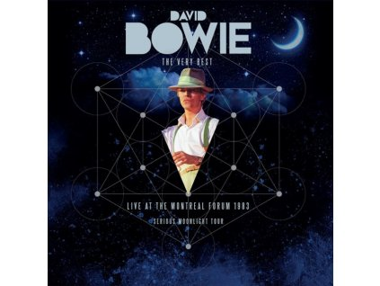 DAVID BOWIE - The Very Best - Live At The Montreal Forum 1983 / Serious Moonlight Tour (LP)