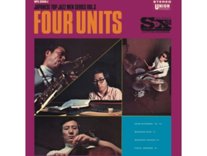 AKIRA MIYAZAWA / MASAHIKO SATO / MASAHIKO TOGASHI & YASUO ARAKAWA - Four Units - Japanese Jazz Men Series Vol. 3 (LP)