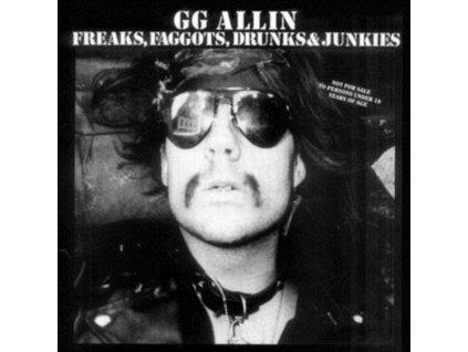 GG ALLIN - Freaks. Faggots. Drunks And.. (LP)