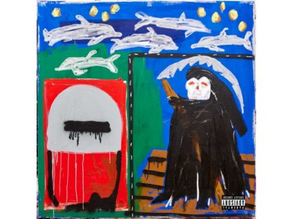 ACTION BRONSON - Only For Dolphins (LP)