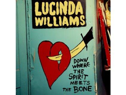LUCINDA WILLIAMS - Down Where The Spirit Meets The Bone (LP)