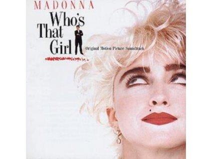 ORIGINAL SOUNDTRACK - Whos That Girl (CD)