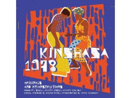 VARIOUS ARTISTS - Kinshasa 1978 (LP + CD)